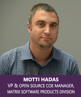 ,Motti Hadas, VP & Open Source CoE Manager